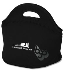 Everyone loves a reusable lunch tote - and this one is cute to boot!  #4imprint