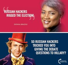 Brazile is a lying, self-serving faux-liberal douche-nozzle who wouldn't grasp true democratic principles if they bit her on her chubby butt. She's a disgrace to her part and her country.