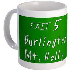 Exit 5, Burlington, NJ Mug