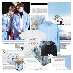 """Baby Blue"" by rainie-minnie ❤ liked on Polyvore featuring Stefano Ricci, Diesel, Prada, NIKE, LSA International, men's fashion and menswear"