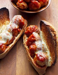 Barbecue Meatball Subs - Recipe Runner BBQ Meatball Sub LoVe cooking? Send me your favorite recipes! I Love Food, Good Food, Yummy Food, Food Truck, Tasty Meatballs, Veggie Meatballs, Food Porn, Food Goals, Aesthetic Food