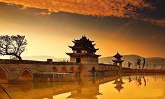 Shuanglong Bridge, Jianshui, Yunnan, China