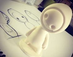 Development of toy art, modeled in clay, wax finish and the final model in polyurethane resin Toy Art, Vinyl Toys, Vinyl Art, Clay Crafts, Diy And Crafts, Modelos 3d, Arte Horror, 3d Prints, Designer Toys