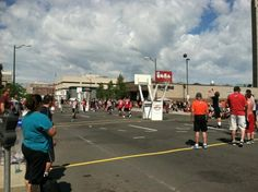 #Spokane#Hoopfest. Largest 3 on 3 basketball tournament in the country every year.
