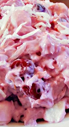 Cherry Fluff Marshmallow Salad Recipe – Jo Hartsell Cherry Fluff Marshmallow Salad Recipe Cherry Marshmallow Salad – sweet cherries, mandarin orange, crushed pineapple, coconut, marshmallows and whipped topping…heavenly!