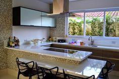 cozinhas planejadas com ilha e bancada - Pesquisa Google