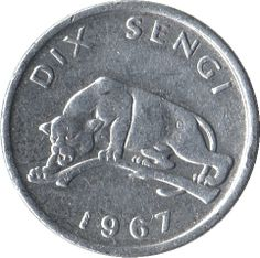10 Sengi #Congo D.R. -1967   Ritrae un leopardo.