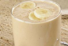 Peanut Butter, Banana, and Oat Smoothie