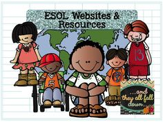 A few websites and resources to help you differentiate instruction in a classroom with English Language Learners. {writing, Common Core, and ELL's}
