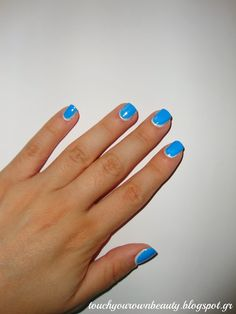 In Mary's Makeup: Nails of Summer Days