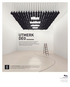 The Norwegian Design Council — MfGD Invites by Kim Holm, via Behance Exhibition Booth Design, Exhibition Display, Exhibition Space, Stand Design, Display Design, Wall Design, Design Bedroom, Environmental Graphics, Environmental Design