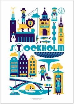 Poster for #Stockholm (by unknown)