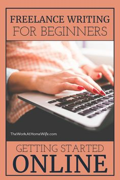 Excellent resource for getting freelance writing jobs as a beginner
