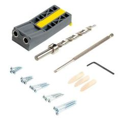 General Tools Professional Crown Moulding Cutting Jig Tool for miter radial and table saws-881 - The Home Depot Trim Carpentry, Carpentry Tools, Woodworking Projects, Pocket Hole Jig, Pocket Hole Screws, Cut Crown Molding, Moulding, Face Frame Cabinets, Dovetail Jig
