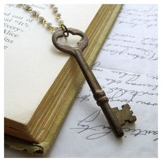 Unlocking the Riddle of Skeleton Key Necklaces Collectors Weekly ❤ liked on Polyvore featuring backgrounds