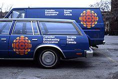 Burton Kramer's CBC logo, circa 1974.