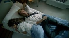 Zed in the hospital. Constantine