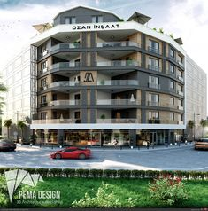 - The most creative designs Design 3d, Facade Design, Design Hotel, Creative Design, Architecture Design, New Urbanism, Apartment Projects, Building Facade, My Town