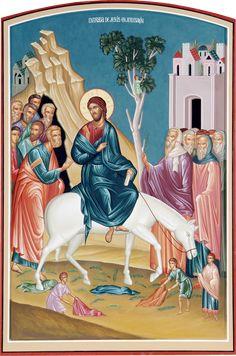 La Entrada de Jesus a Jerusalen