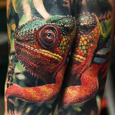 Realistic Animal Tattoo by Qtattoo Lee | Tattoo No. 12962