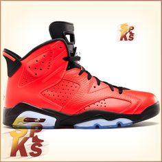 5b09b82a2bcf Jordan 6 (VI) Retro Infrared 23 Infrared 23   Black-Infrared 23 384664-623  – Buy Jordans  Buy Authentic Jordans at Specifically Kicks
