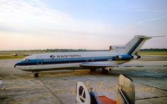 Eastern Air Lines, Boeing Boeing 727 200, Old Planes, Boeing Aircraft, Air Lines, Commercial Aircraft, Civil Aviation, Air Travel, Sailboat, Folk Art