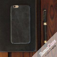ORIGINAL(オリジナル)本革 オールレザー ビジネス風 カバー型 PCハードケース for iPhone7/6S/6/Plus