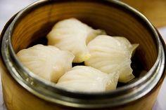 Har gau (steamed shrimp dumplings)