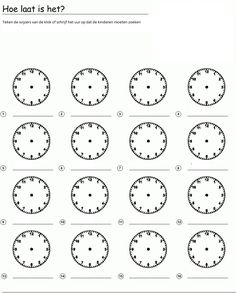 Clock Worksheets, Aperol, 1 Gif, Teaching Time, Kids Education, School, Homework, Google, Tattoos