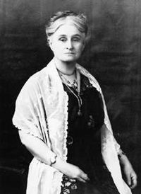 Edith Cowan, first woman to be elected to an Australian parliament - a champion of women's educational and political rights and a formidable parliamentarian