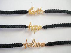 Dainty gold bracelets Friendship bracelet Gift for by Poppyg