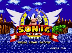 Sonic The Hedgehog Open Source Project