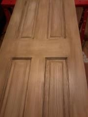 I painted and glazed this door using the Kitchen Cabinet refinishing kit from Home Depot! Cabinet Refinishing, Refacing Kitchen Cabinets, Classic Architecture, Diy Home Improvement, Home Depot, Hardwood Floors, Kitchens, Projects, Ideas