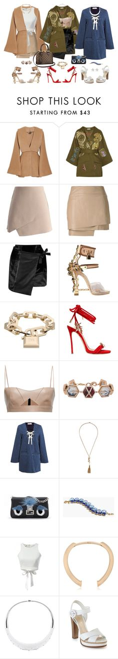"""Bell Sleeve Wear"" by oh-aurora ❤ liked on Polyvore featuring Alexander McQueen, Emilio Pucci, Chicwish, Helmut Lang, Missoni, Dsquared2, Salvatore Ferragamo, Monique Péan, Alice McCall and Yves Saint Laurent"