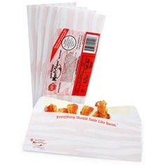 @Sara Oliva This reminded me of you!   Mmmmvelopes - Bacon Flavored Envelopes