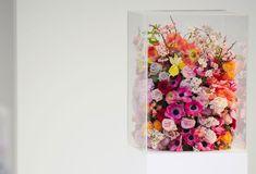 Jil Sander A/W 12-3 floral arrangements