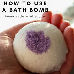 Learning how to use a bath bomb is easy! Here are the simple steps, plus some ideas on how to make the most of your bath bomb experience.