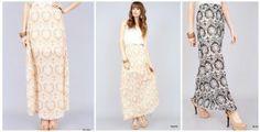 Beautiful Printed Maxi Skirts | toAdorn.com