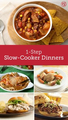Strapped for time? These dump-and-go slow-cooker recipes are here to save the day.