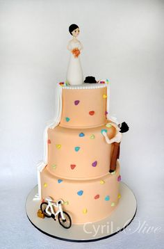 Another really cute rock climbing cake.