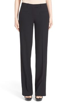 MICHAEL KORS Serge Wool Pants. #michaelkors #cloth #