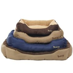 The Deluxe Pet bed is the original Bunty bed, its stylish yet simplistic design offers the highest level of comfort for your pet. The lower exterior is comprised of a hardwearing p