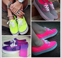 Vans i adore vans Galaxy Converse, Vans Converse, Grunge Style, Soft Grunge, Neon Style, Cool Vans Shoes, Hot Shoes, Me Too Shoes, Doc Martins