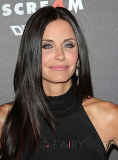 Courteney Cox Long Straight Hairstyles 2013 - Black Long Haircuts Source by Long Straight Layered Hair, Long Layered Haircuts, Long Hair Cuts, Layered Hairstyles, Black Hairstyles, Straight Cut, Trendy Hairstyles, Remy Hair Wigs, Human Hair Wigs