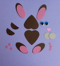 paper punch easter bunny
