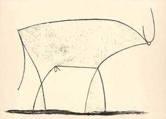 Toro XIV (1945) by Pablo Picasso