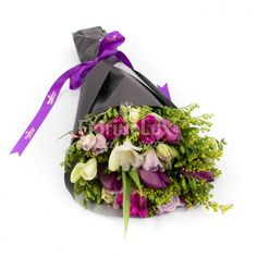 Buchet frezii nuante de mov Martie, Floral Wreath, Wreaths, Decor, Fragrance, Decoration, Door Wreaths, Dekoration, Deco Mesh Wreaths