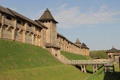 В Древнем Киеве реконструирован шедевр средневековья: самая длинная оборонительная стена - Общество на Joinfo.ua