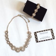 Romantic Crystal (SET)  All these are NEW retail items.  Get the luxury look at boutique price !! Listed as brand name for exposure.  Any questions? Do ask,  ✨Each lovely listing includes a lux velvet storage pouch.✨ I ship Mon-Fri 10am-4:30 NYC time.  Share this post with other lovely Poshers? Jewelmint Jewelry Necklaces