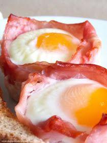 Shopgirl: Baked Ham and Egg Breakfast Cups